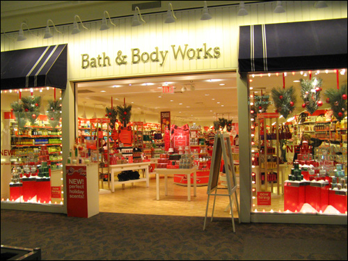 bath and body works store