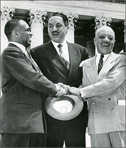 thurgood marshall essay example He has been hailed as a great defender and giant in his quest for human rights with the acquisition of the thurgood marshall papers the manuscript division has deeply enriched its 20th century civil rights holdings we initially asked for his papers around 1965, recalled debra newman ham, afro.