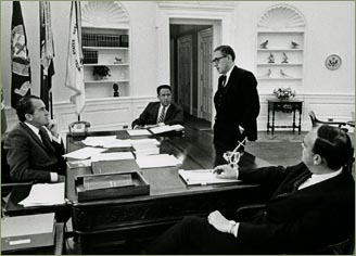 Nixon office Hideaway Office Nixon Reflects On Televised Address With Haldeman The President Calling American Public Media Nixon Reflects On Televised Address With Haldeman The President