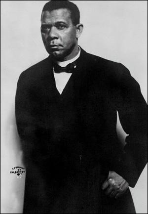 Booker T. Washington ca. 1890.